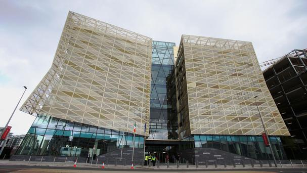 The new Central Bank of Ireland headquarters on North Wall Quay, Dublin (Stock picture)