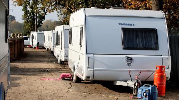 The family claim they have difficulties getting hotel accommodation because they are Travellers. Stock image