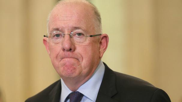Foreign Minister Charlie Flanagan Picture: PA