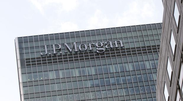 JP Morgan headquarters at Canary Wharf in London