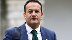 Leo Varadkar, pictured, and Simon Coveney are the contenders to be the new Taoiseach