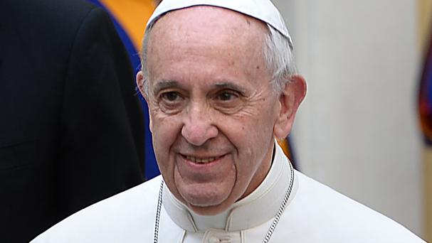 Pope Francis will host the Irish President