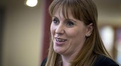 Angela Rayner commended Tony Blair's work in the Northern Ireland peace process