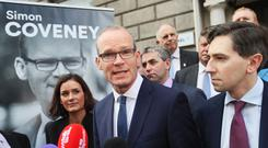 Mr Coveney followed in his father's footsteps