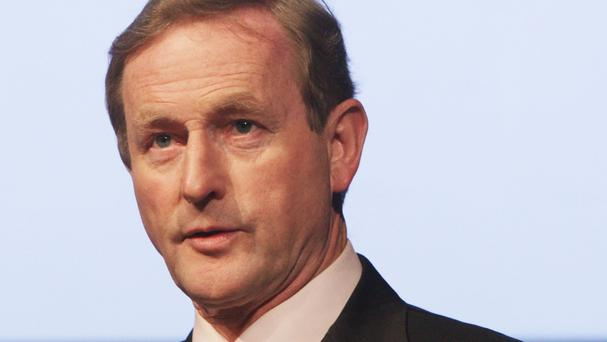 Enda Kenny was in Chicago for Healthbeacon's job announcement