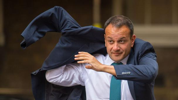 Today Taoiseach Leo Varadkar will meet with the President of the EU Council, Donald Tusk, and Commission President Jean-Claude Juncker. Picture: PA
