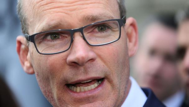 Foreign Minister Simon Coveney. Picture: PA