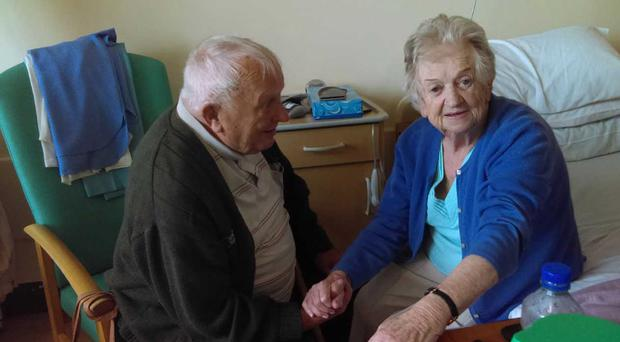 Michael and Kathleen Devereaux have been married 63 years (Liveline/PA)