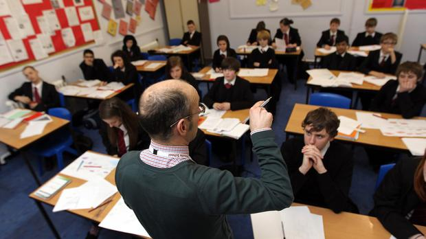 'Amazingly, not even one pupil in the whole of the North of Ireland is studying Ulster Scots in the classroom.' (Stock picture)