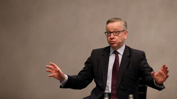 The UK Secretary of State for Environment, Food and Rural Affairs Michael Gove.