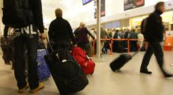 New figures show that more than five million travel documents have so far been checked under the new system, involving the vast majority of air passengers arriving here, regardless of nationality or route taken. Stock Image