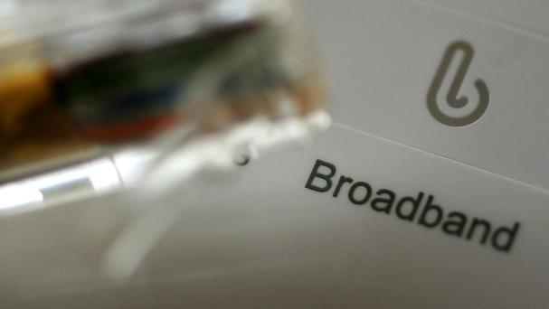 542,000 businesses and homes - at least a quarter of the population - won't see any broadband until at least 2019. (Stock picture)