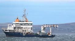 The Granuaile found the wreckage of Rescue 116 off off Co Mayo back in April