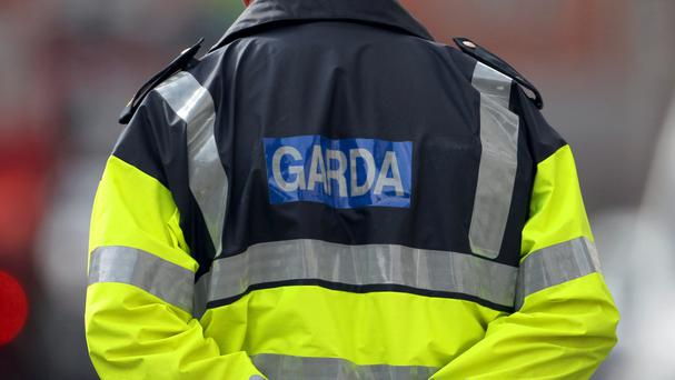 Gardai have sealed off the area