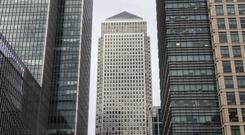 The European Banking Authority is based at One Canada Square in Canary Wharf, London