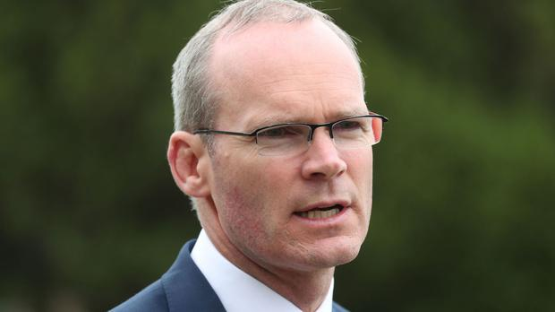 Irish Minister for Foreign Affairs Simon Coveney spoke of the 'overwhelming' scale of humanitarian crises