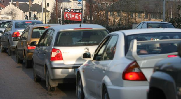 Motorists could face nightmare delays this weekend