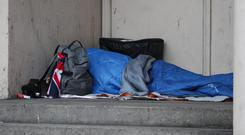 Homeless people were on average younger and sicker, 2016 figures revealed