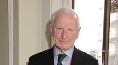 Pat Hickey pictured during the London Olympics