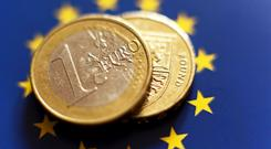 Sterling slipped to its weakest level versus the euro in 10 months on Friday. Stock image