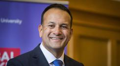 Taoiseach Leo Varadkar was visiting Chicago.