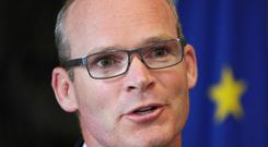 Simon Coveney said he does not want the Irish border to be used as a tool to pressurise the EU for broader trade agreements
