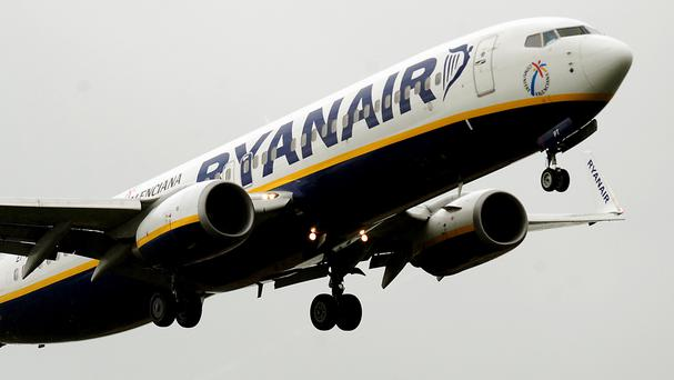 Ryanair generated just 10pc of its ancillary revenue from in-flight sales in the 2017 financial year, while only 5pc of it was internet-related. Stock image