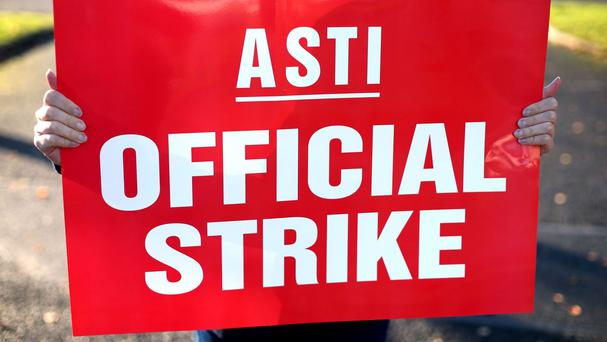 An ASTI spokesperson said strike action cannot be 'ruled out' (stock photo)