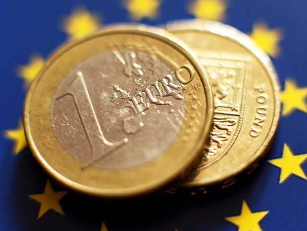 Sterling is currently weak against the Euro (stock photo)