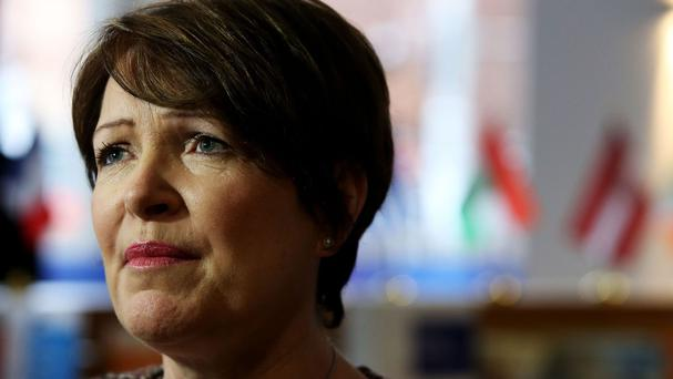 Noirin O'Sullivan said she was leaving the force after facing an