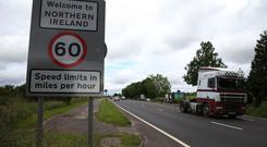 An estimated 110 million border crossings are made each year between the Republic of Ireland and Northern Ireland