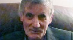 John Nolan died after being found on fire in unexplained circumstances
