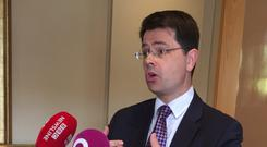 Northern Ireland Secretary James Brokenshire welcomed 'positive statements' from Sinn Fein and the DUP