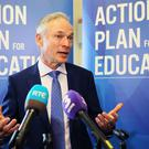 Minister for Education Richard Bruton said the review would be completed by March