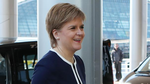 Nicola Sturgeon said Ireland and Scotland are united on virtually every issue of substance relating to Brexit