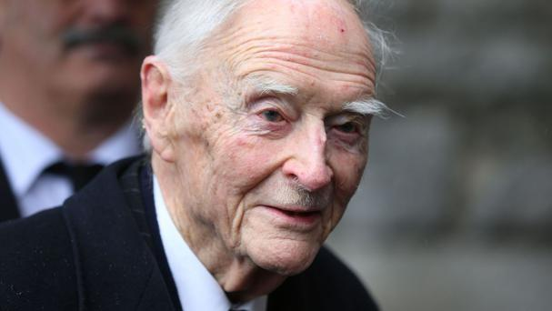 Mr Cosgrave died on Wednesday at the age of 97