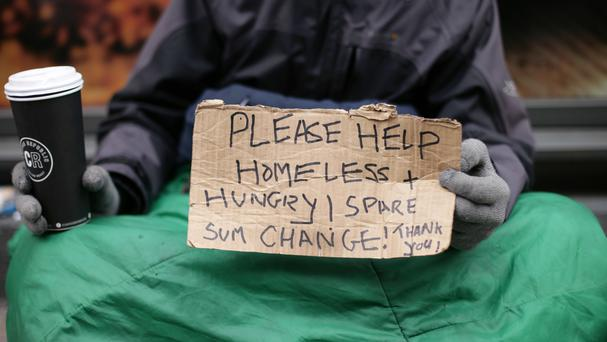 Tuesday's Budget announcement took place on World Homelessness Day