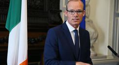 Simon Coveney said he did not want to make a running commentary on powersharing talks, but a critical phase had been reached