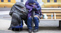 Campaigners have voiced concerns about the rise in homelessness