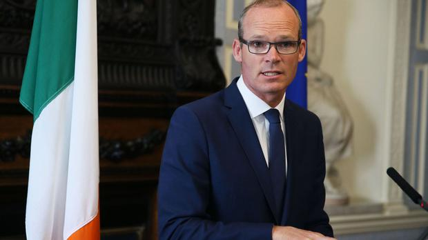 Foreign Affairs Minister Simon Coveney