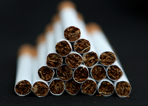 Overall, smoking rates are declining. Stock photo: PA News