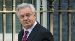 David Davis has visited European capitals in an attempt to build support for the UK's position
