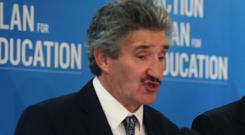 John Halligan has faced calls to resign over the incident