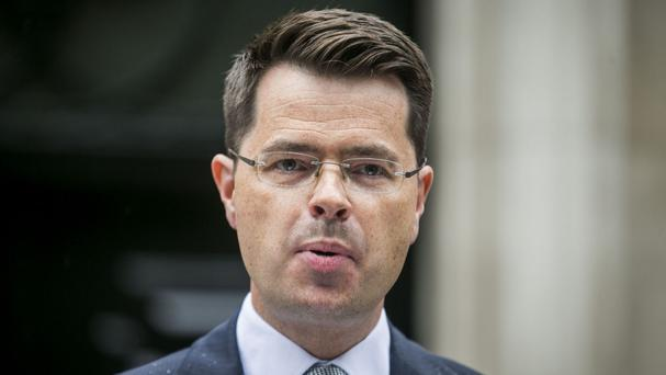 Former Secretary of State for Northern Ireland James Brokenshire