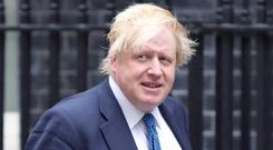 Boris Johnson and Ireland's Foreign Minister Simon Coveney are to discuss global issues as part of the Foreign Secretary's day trip to Dublin