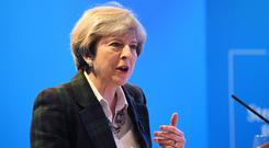 Theresa May believes the differences between the parties can be resolved
