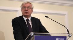 David Davis' approach to Brexit negotiations are criticised in the leaked document