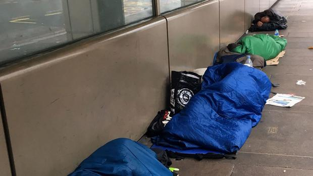 The Government is being called on to commit to housing every person sleeping rough in the capital by the end of the year