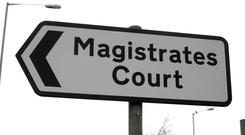 Stephen McKinney was remanded in custody at Omagh Magistrates' Court