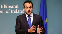 Varadkar spoke during leaders questions in the Dail on Tuesday